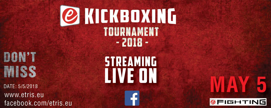 ekickboxing tournament etris.eu